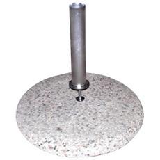 Base Per Ombrellone Ghiaino / cemento Con Tubo 55 Arredo Giardino