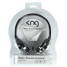 Stylo, Padiglione auricolare, 100 mW, 20 - 20000 Hz, Cablato, 1,5m, Nichel