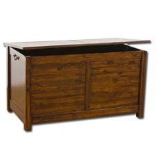 Cassapanca baule in legno arredo esterno e interno 115x 65