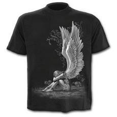 Spiral - Enslaved Angel - T-shirt Black (T-Shirt Unisex Tg. L)