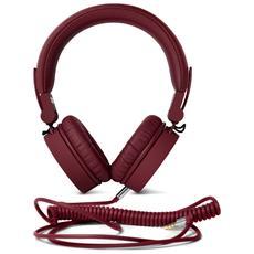 Cuffie Sovraurali Caps Headphones ad Archetto - Rosso