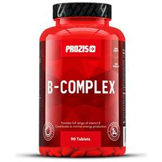 B Complex 90 Tabs Energia Salute Mente Capelli Pelle Cardiovasculare Ormonale -
