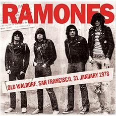Ramones (The) - Old Waldorf, San Francisco 31st January 1978