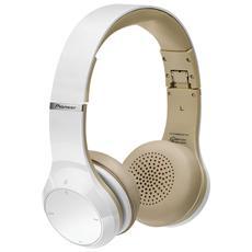 Cuffie con Microfono Bluetooth Colore Bianco