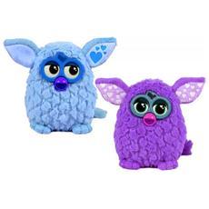Peluche Furby colore viola o azzurro cm H 11