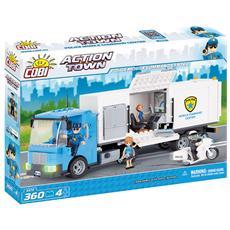 1573 Set Costruzioni Police Mobile Command Center 360 Pz *02610