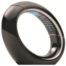Telefono Cordless ECLIPSE 15 Nero Dect Design con Segreteria e Vivavoce