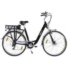 Bicicletta Con Assistenza Elettrica Belair Ii - 36v - Edizione Premium Nera.