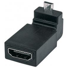Adattatore Micro-HDMI / HDMI M / F Nero