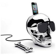 AeroSkull Chrome, Apple 30-pin, Smartphone, Apple, iPhone, Cromo, 3,5 mm