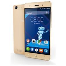 "Leisure L56 Oro 16 GB 4G / LTE Dual Sim Display 5"" HD Slot Micro SD Fotocamera 13 Mpx Android Italia"