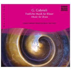 Giovanni Gabrieli - Music For Brass