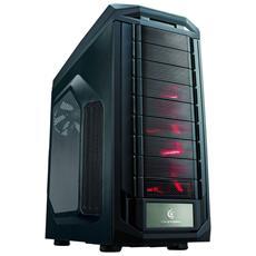 Case Storm Trooper Big Tower XL-ATX / ATX 2 Porte USB 3.0 Colore Nero (con Finestra Laterale Trasparente)
