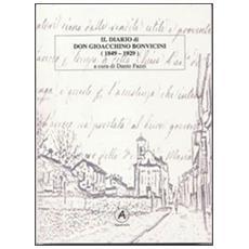 Il diario di don Gioacchino Bonvicini (1849-1929)