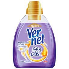 Ammorbidente Concentrato Soft&oil Viola 750 Ml. Detergenti Casa