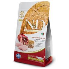 N&d Low Grain Gatto Sterilizzato, Pollo E Melograno Kg1.5