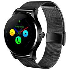 Smartwatch K88h Bluetooth Cardiofrequenzimetro Orologio Compatibile Android E Ios Nero