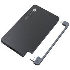 I5000, Esterno, Telefono cellulare, Tablet, Polimeri di litio (LiPo) , Batteria, USB, Nero, iPhone, iPad