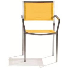Sedia Urban Giallo mm 560X610X860H