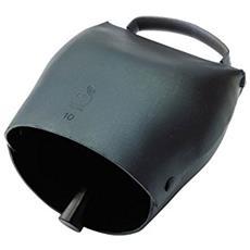 Campana per animali numero 8 in acciaio al carbonio 98xH110 mm