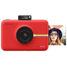 Fotocamera Istantanea Snap Touch Stampa ZINK Sensore 13Mpx - Rosso