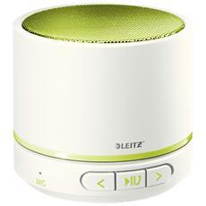 Speaker Audio Portatile WOW Potenza 3 W Bluetooth con Vivavoce - Verde e Bianco