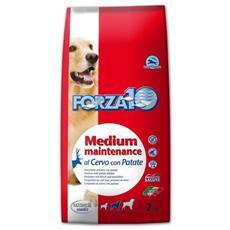 Forza10 Cane Taglia Media, Mantenimento Secco Cervo E Patate Kg. 2