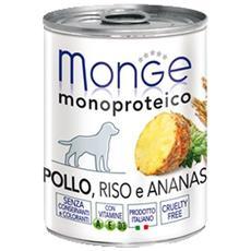 Cane, Patè Frutta Pollo Riso E Ananas Gr 400