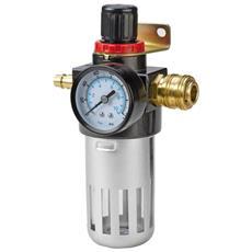 """Filtro Riduttore Pressione R 3/8"""""""" Per Compressore D'aria"""