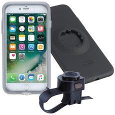 Pack Bici Iphone 7 Plus / 8 Plus Cover + Supporto Fissaggio Fitclic Tigra Sport