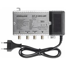 KR 35 BKG-MR, 153 x 93 x 53 mm, Metallico