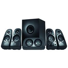 LOGITECH - Altoparlanti + Subwwoofer Surround Sound Speakers Z506 5.1 per Gaming 75W Nero