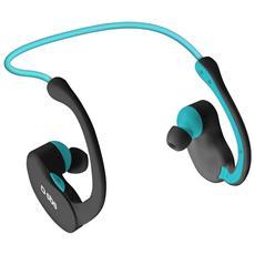 Auricolare Stereo Sport Runway Evolution con archetto Tasto per risposta Bluetooth 3.0 - Nero