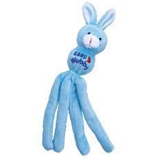 Per gatti modello Wubba Rabbit con soggetto coniglio morbido 4 code leggere e sfruscianti