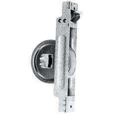 Avvolgitore da semincasso zincato con placca ferro nera mm. 165x75 - 10mt.