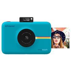 Fotocamera Istantanea Snap Touch Stampa ZINK Sensore 13Mpx - Azzurro