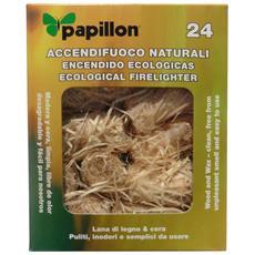 Accendifuoco Naturale Per Barbecue Cf. 24 Pz