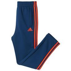 Pantalone Junior Essential 3 Stripes 15/16a Blu Rosso