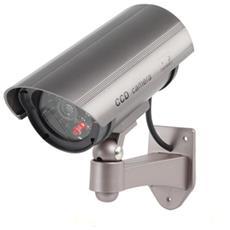 Telecamera Finta Dummy Ir Speed Led Dome Lampeggiante Camera Videosorveglianza Colore Casuale