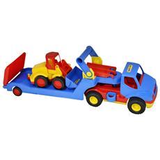 Set Escavatore E Camion 56x14,5x17 Cm 1450619
