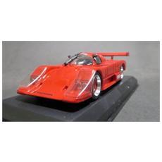 Lm032 Nissan R86v Red 1987 1/43 Presentat. Modellino