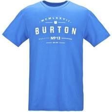T-shirt Uomo Numeral L Blu Bianco