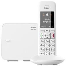 Telefono DECT E370 con Tasti Grandi + SOS Colore Bianco