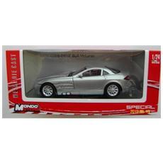 DieCast 1:24 Auto Mercedes Benz SRL Mclaren Argento 51001