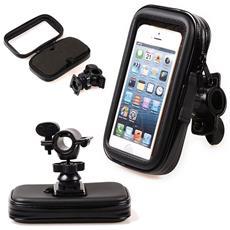 Supporto Moto Waterproof 5.5 Inches 360 Gradi Rotazione Porta Cellulare Universale Motocicletta Smartphone Mp3 Mp4 Gps