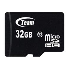 32GB Micro SDHC, 32 GB, Micro Secure Digital High-Capacity (MicroSDHC) , 20 MB / s, Nero, 2.7, 3.6V, 0 - 70 C