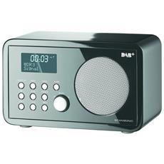 DA200, 3,5 mm, Orologio, Digitale, DAB+, FM, PLL