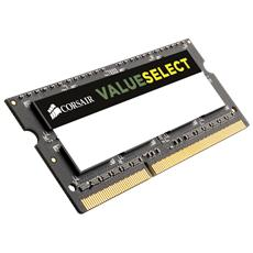 Memoria SoDimm Value Select 2 GB (1 x 2GB) DDR3 1333 Mhz Unbuffered CL 9