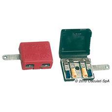 Terminali in ottone per batteria