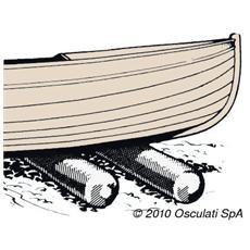 Rullo alaggio PVC scafi 200 kg